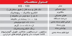 جدول دو توزین